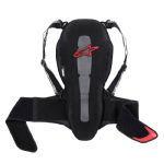 Alpinestars Nucleon KR-2 Adventure Touring Back Protector Black Red